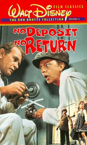 No Deposit, No Return Amazoncom No Deposit No Return VHS David Niven Darren McGavin