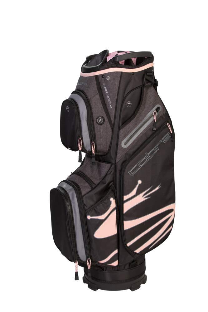 Cobra Golf 2019 Ultralight Cart Bag (Black-Pink) by Cobra