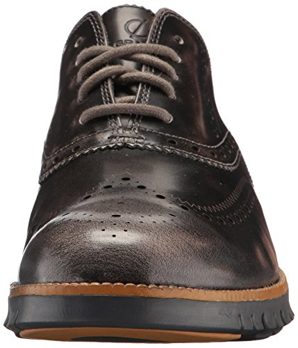 Cole Haan Mens Zerogrand Wing Ox Leather Oxford Rock Ridge Leather/Magnet MDDnY7T7b