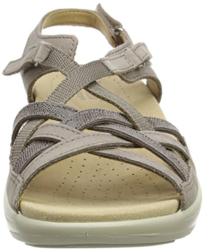 Hotter Women's Maisie EXF Open-Toe Sandals Brown (Truffle Multi) BpJjqaej
