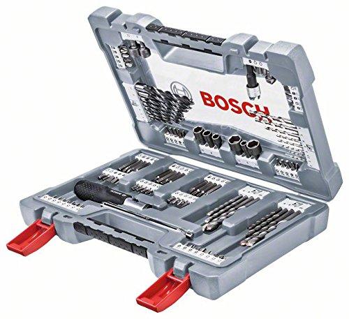 Bosch 2608P00236 - Ensemble d'outils assortis, Boite 105 piè ces, Argent Boite 105 pièces