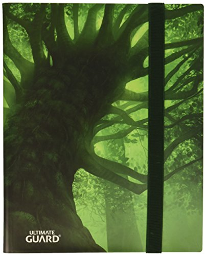Ultimate Guard Binder 9-Pocket Flexxfolio Lands Edition Forest Collectible Card Protection by Ultimate Guard