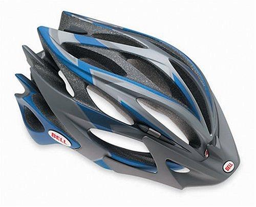 - Bell Sweep XC Racing Bike Helmet (Matte Blue/Titanium, Small)