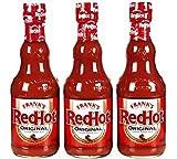 Frank's RedHot Original Cayenne Pepper Sauce, 5 oz (3 Pack)