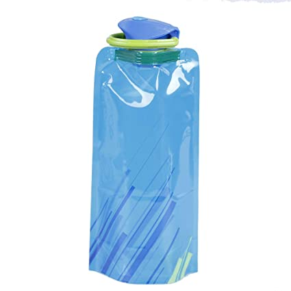 New Portable 700ML Collapsible Folding Drink Travel Sports Kettle Water Bottle