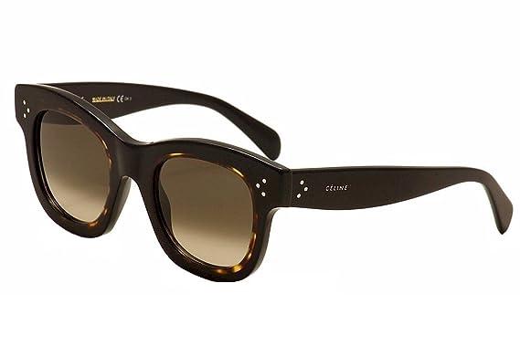 4a3ae1c9da Celine 41397 S TZDZ3 Black   Tortoise Helen Square Sunglasses Lens Category  3 S