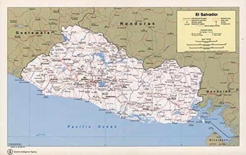 - Map: 1980 El Salvador|El Salvador