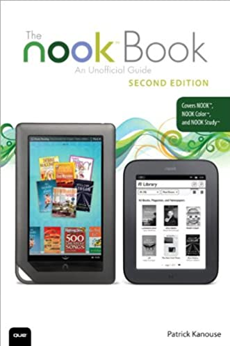 the nook book an unofficial guide everything you need to know for rh amazon com Nook Color Wallpaper nook color owner's manual