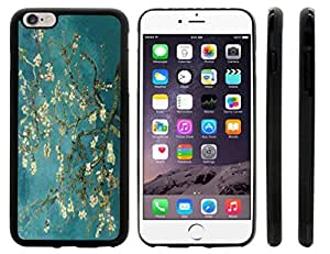 Rikki KnightTM Van Gogh Almond Blossoms Design iPhone 6 Plus Case Cover (Black Rubber with front bumper protection) for Apple iPhone 6 Plus by lolosakes