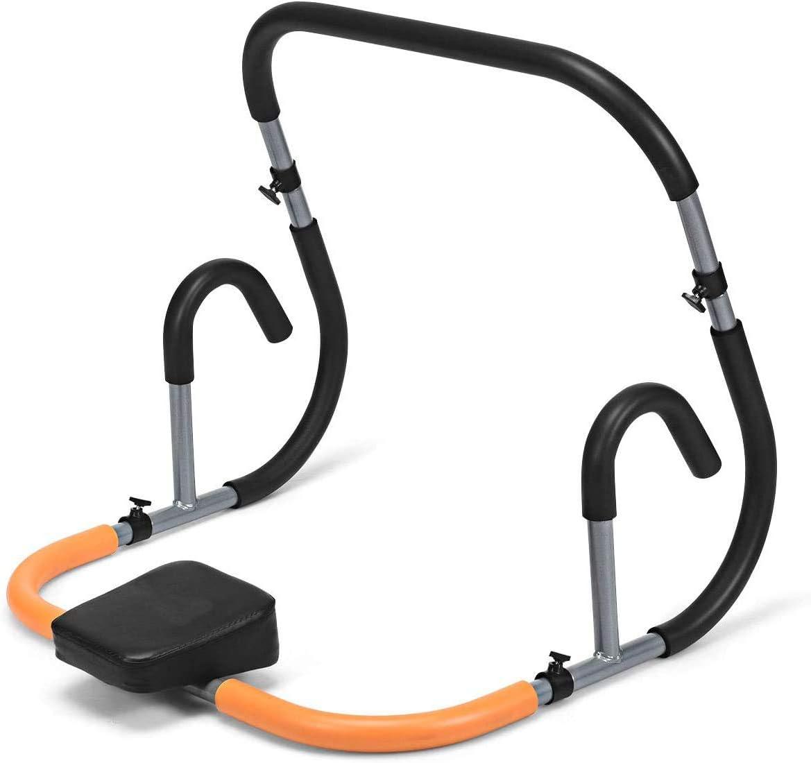 BigHappyShop Fitness Crunch, entrenador abdominal, máquina abdominal, ejercicio
