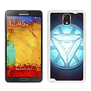 Iron man Heart White Samsung Galaxy Note 3 Screen Cellphone Case Popular and Unique Design