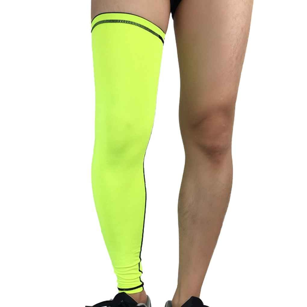 Recovery Compression Leg Sleeves Football Cycling Strech Leg Knee Protector Stocking Republe