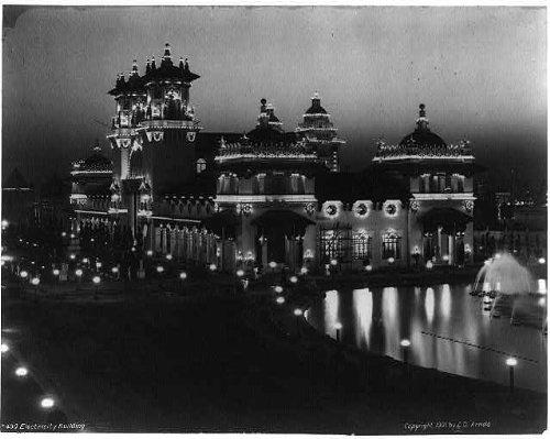 Photo: Night view,Pan-American Exposition, Buffalo, N.Y., 1901
