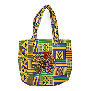 0f8e3add3d55 Amazon.com   African Kente Print Tote Bags - From West Africa Pattern 1 ( Pattern 4)   Baby