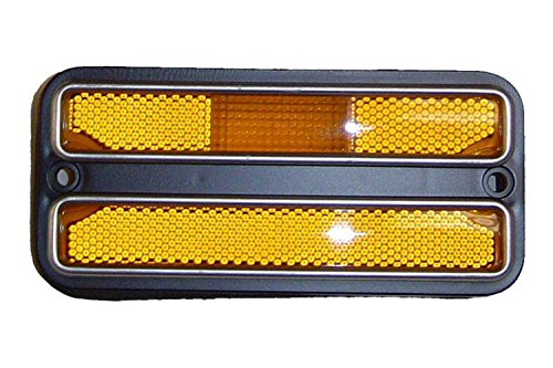 Front Fender Side Marker Lamp - Amber - 68-72 Chevy GMC Truck Suburban; 69-72 Blazer; 70-72 Jimmy