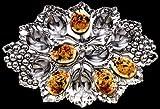 Arthur Court Designs Grape 12 Slot Deviled Egg Holder