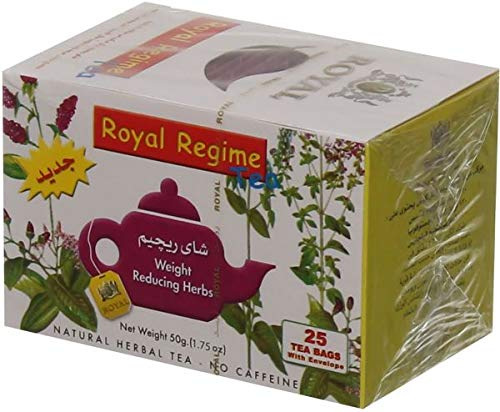 s Weight Loss Reducing Herbal Slimming Herbs Detox Diet Morning & Evening Perfect Overweight Herbs Drink (4 Box = 200 Tea Bags) ()