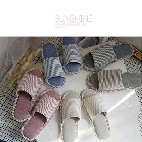 Raya Mujer Zapatillas Algodón Estilo Lino Para Algodón De Japonesa wXXqHB8