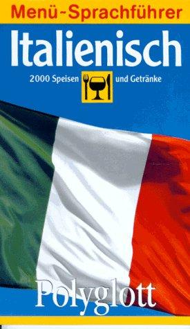 Polyglott Menü-Sprachführer, Italienisch