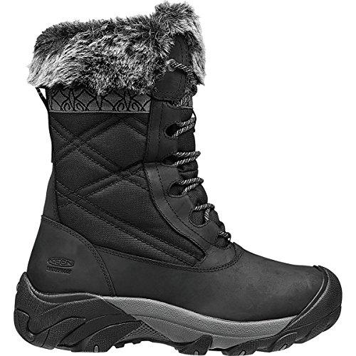 KEEN Women's Hoodoo III Winter Boot, Black/Gargoyle, 8 M US by KEEN