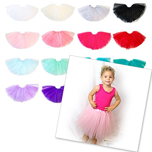 My Lello Little Girls Tutu 3-Layer Ballerina (4 mo - 3T)