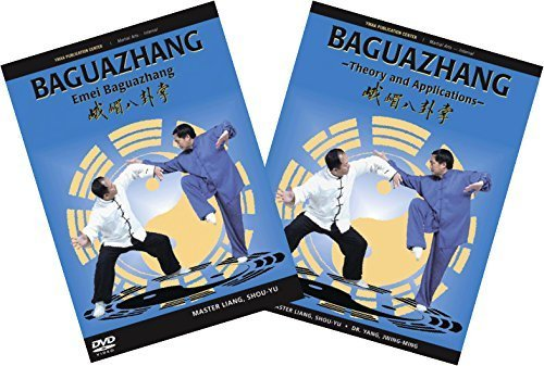 Bundle: Baguazhang (pa kua chang) complete kung fu set by Liang, Shou-Yu by YMAA Publication Center
