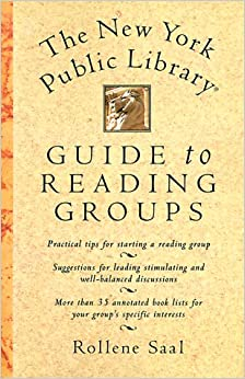 Book The New York Public Library Guide to Reading Groups