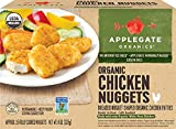Applegate Organics Chicken Nuggets, 8 Ounce (Pack of 12)