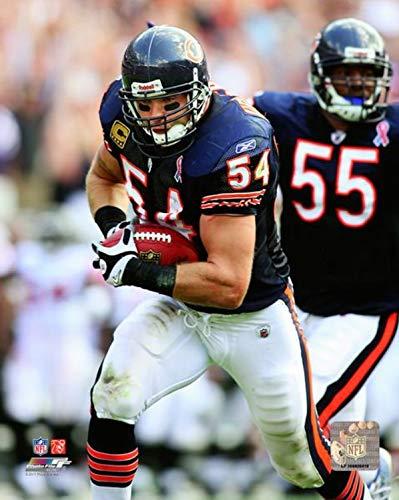 Brian Urlacher Chicago Bears Action Photo (Size: 16