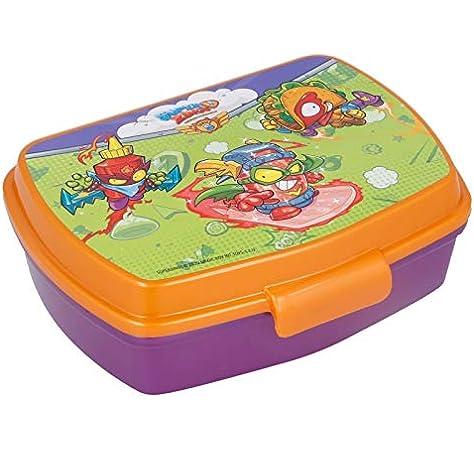2738; Sandwichera rectangular multicolor Superzing; producto de plástico; libre BPA: Amazon.es: Hogar