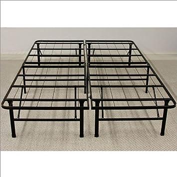 classic brands deluxe raised metal platform frame twin marita full bed homelegance 2021fw 1 white california king