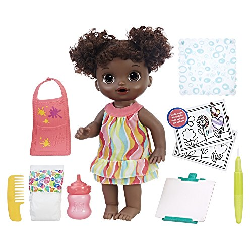 Baby Alive Finger Paint Baby (AA) (Amazon Exclusive)