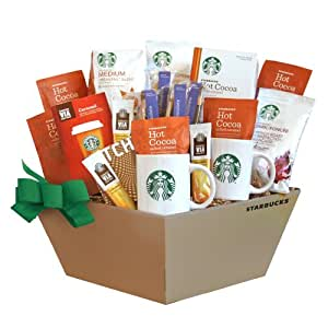 California Delicious Starbucks Coffee, Cocoa and Chocolate Gift