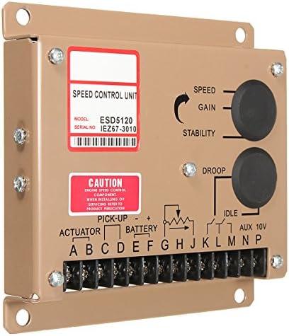GGGarden ESD5120 Speed Regulating Plate Engine Speed Governor Speed Controller Speed Regulator