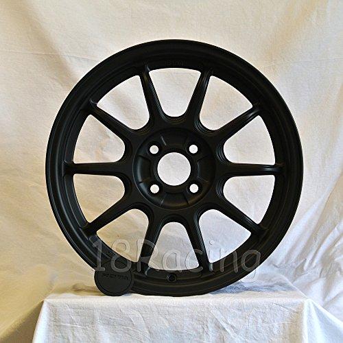 4 PCS ROTA WHEEL F500 WHEELS 16x7 PCD:4x98 OFFSET:35 HB:58.1 FLAT BLACK FIAT 500 ONLY 12.7 LBS - Rota Wheel
