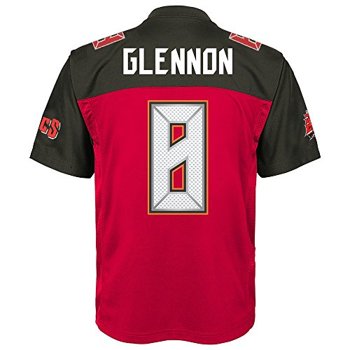 Outerstuff Mike Glennon NFL Tampa Bay Buccaneers Mid Tier Home Red Jersey Youth (S-XL)