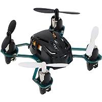 Hubsan H111 NANO Q4 Drone Mini Pocket Helicoptère Télécommandé 2.4GHz 4 Canaux 6 Axes Gyro Quadricoptère RC avec Flips 360 ° et Indicateur LED Pour Des gamins Les Débutants (noir)