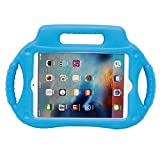 Protective ipad/tablet Case, Egmy Popular Multifunction Kids Shock Proof Handle Protective Case For iPad mini 1 2 3 4 (Blue)