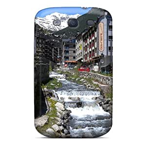 MWAder Snap On Hard Case Cover Stream In The Village Of Ainsal Orra Protector For Galaxy S3