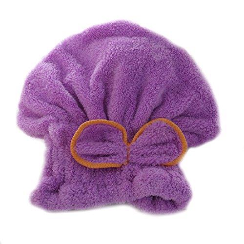 Brillante textil de microfibra de pelo turbante rápidamente cabello secado con toalla envuelta de baño amarillo: Amazon.es: Hogar