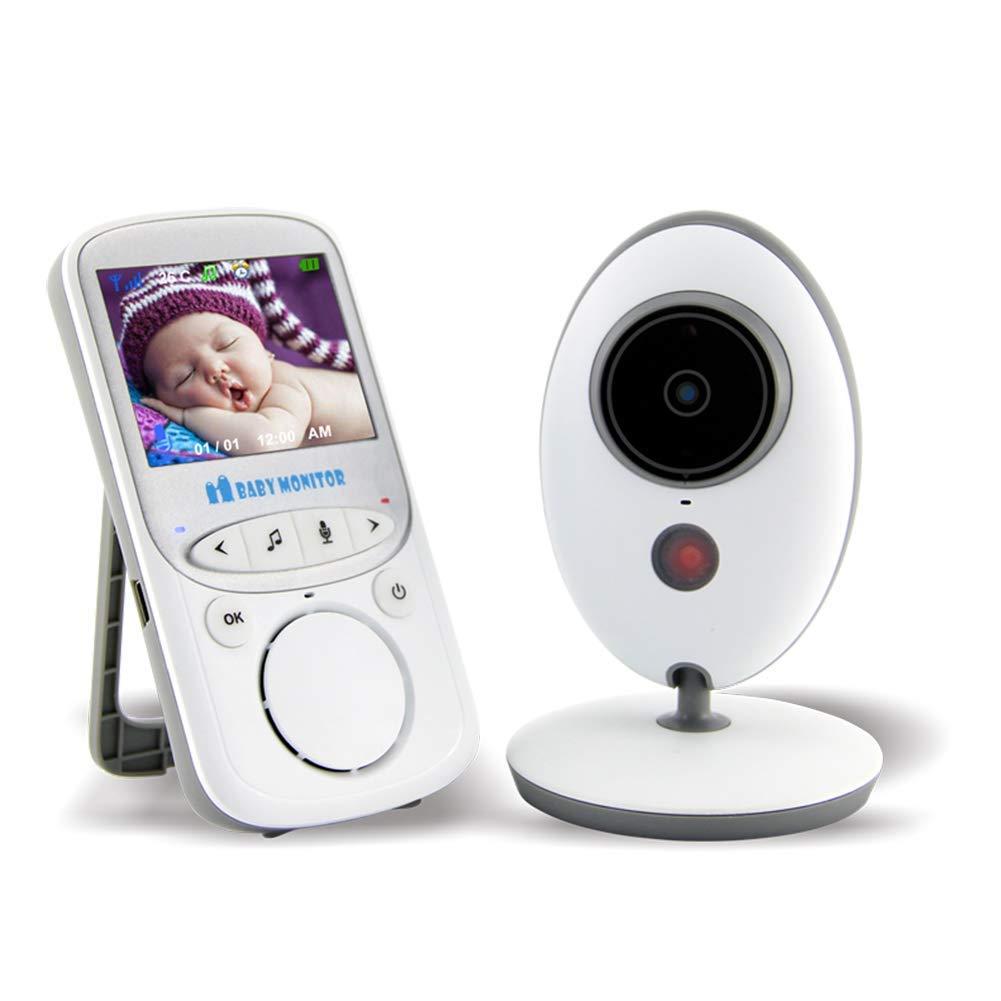 【訳あり】 ビデオベビーモニターカメラ付きワイヤレスデジタル2.4 インチ B07NRM9RY8 LCD LCD スクリーンナイトビジョン温度センサー2ウェイトークロングレンジサウンドアクティベーション インチ B07NRM9RY8, サクマチ:bb3e97ca --- a0267596.xsph.ru