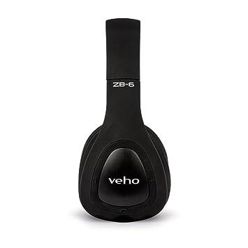 0b43b7b9b Veho ZB6 Auriculares de diadema cerrados Bluetooth con Micrófono y Control  remoto: Amazon.es: Electrónica