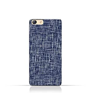 AMC Design Oppo F3 TPU Silicone Case with Brushed Chambray Pattern