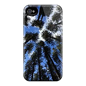 XyCMrfo442xalkq Faddish Tall Trees Case Cover For Iphone 4/4s