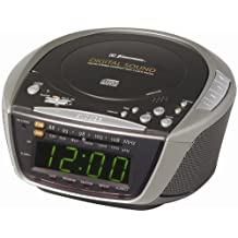 Emerson Radio CKD9906 AM/FM Stereo Dual-Alarm Clock Radio with Programmable CD Player (Discontinued by Manufacturer)