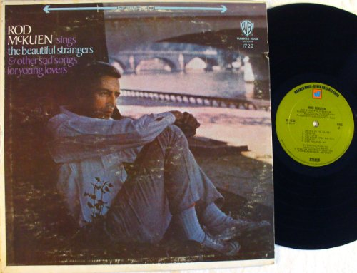 Price comparison product image Rod McKuen Sings the Beautiful Strangers & Other Sad Songs for Young Lovers