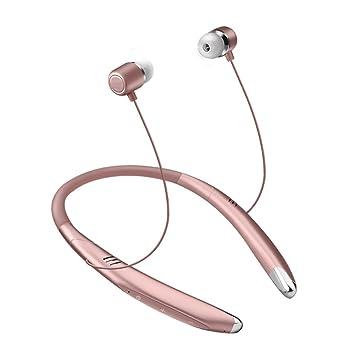 LQUYY V8 Auriculares Bluetooth Inalámbricos Magnéticos Auriculares Banda para El Cuello V4.1 Reducción De Ruido Auriculares Auriculares Estéreo con ...