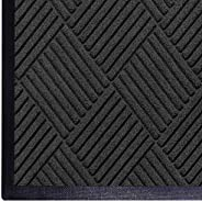 WaterHog Diamond | Commercial-Grade Entrance Mat with Rubber Border – Indoor/Outdoor, Quick Drying, Stain Resi