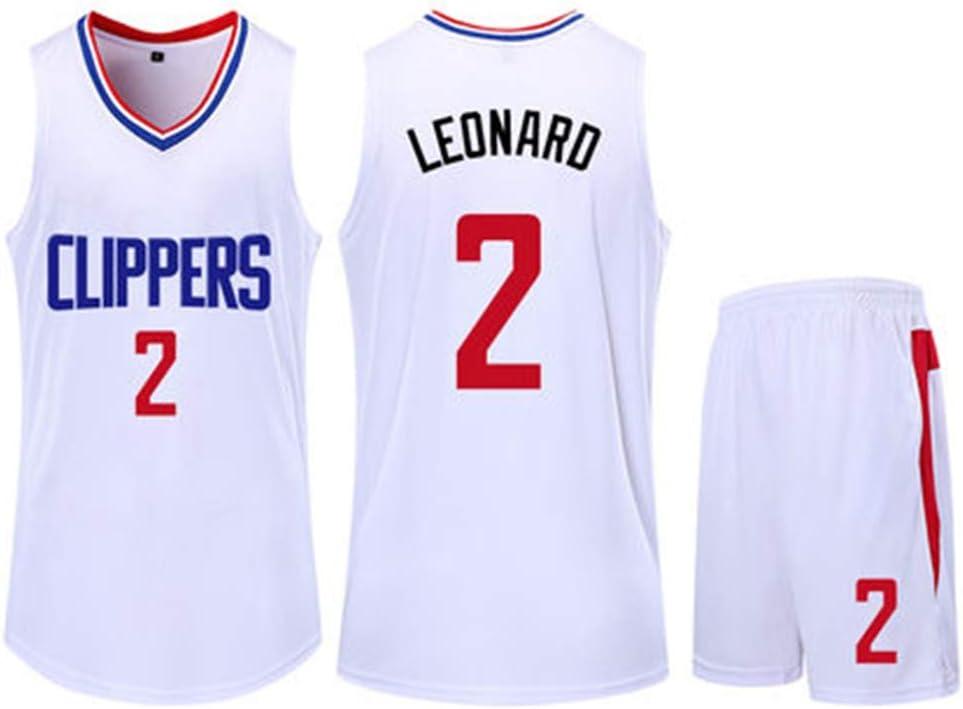 HS-QIAN1 2# Kawhi Leonard Los Angeles Clippers Conjunto De ...