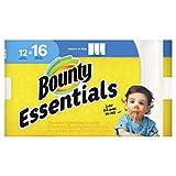Bounty 92970Basic select-a-size Toallas de papel, 59/10x 11, 1-Ply, color blanco, 95por rollo (Pack de 12)